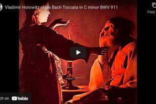 Bach - Toccata in C Minor BWV 911 - Horowitz, Piano