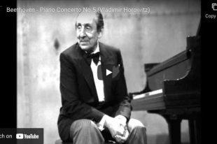 Beethoven - Emperor Concerto (No. 5) - Vladimir Horowitz