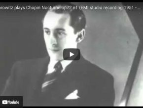 Chopin - Nocturne No. 19 - Horowitz, Piano