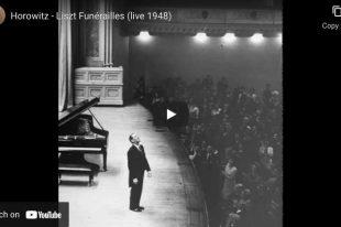 Liszt - Funerailles - Vladimir Horowitz