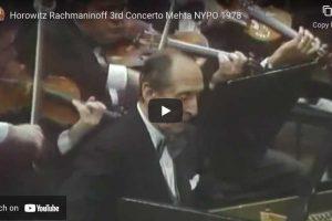 Rachmaninoff – Concerto No. 3 in D Minor – Horowitz, Piano