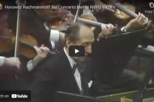 Rachmaninoff - Concerto No. 3 in D Minor - Horowitz, Piano