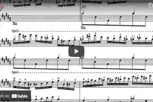 Saint-Saëns/Liszt/Horowitz - Danse Macabre - Horowitz