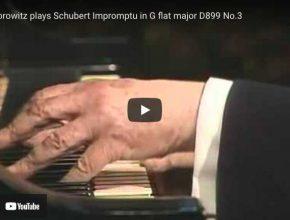 Schubert - Impromptu Op 90 No 3 in G-Flat Major - Horowitz, Piano