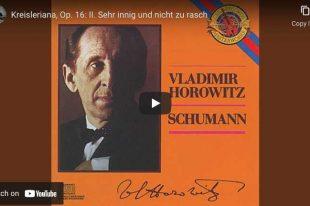 Schumann - Kreisleriana - Horowitz, Piano