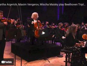 Beethoven - Triple Concerto - Argerich, Vengerov, Maisky