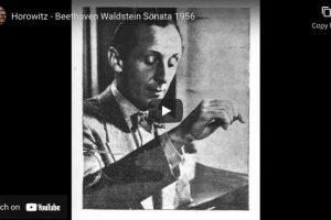 Beethoven – Sonata No. 21 (Waldstein) – Horowitz, Piano