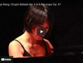 Chopin - Ballade No. 3 - Wang, Piano