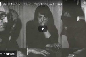 Chopin – Etude Op. 10 No. 1 – Argerich, Piano