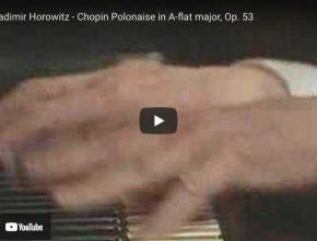 Chopin - Polonaise Heroic No. 6 - Horowitz, Piano