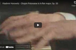 Polonaise Héroïque No. 6 (Chopin) – Vladimir Horowitz