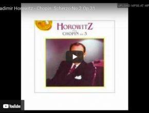 Chopin - Scherzo No. 2 - Vladimir Horowitz, Piano