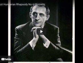 Liszt - Hungarian Rhapsody No. 6 - Horowitz, Piano