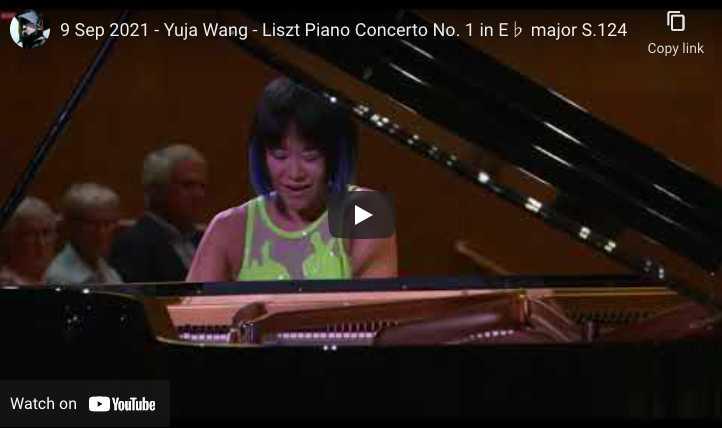 Liszt - Concerto No. 1 - Wang, Piano