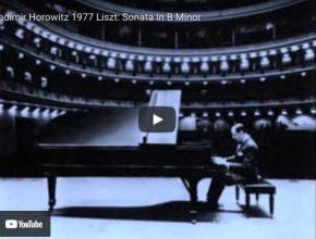 Liszt - Sonata in B Minor - Horowitz, Piano