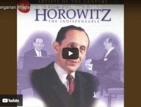 Liszt - Hungarian Rhapsody No. 2 - Horowitz, Piano