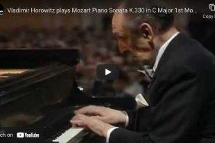 Mozart - Piano Sonata No. 10 - Vladimir Horowitz