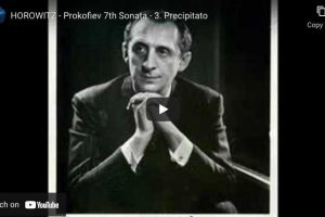 Prokofiev – Piano Sonata No. 7 (Precipitato) – Horowitz, Piano