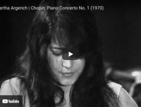 Chopin - Concerto No. 1 - Argerich, Piano