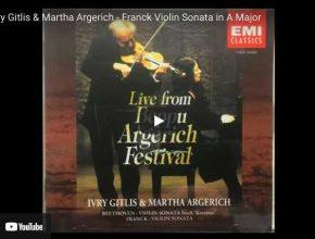 Franck - Violin Sonata - Gitlis, Violin; Argerich, Piano