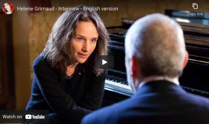 Hélène Grimaud - Interview