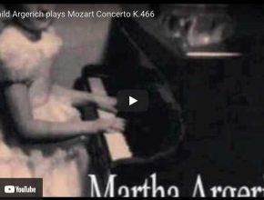 Mozart - Concerto No. 20 - Argerich, Piano