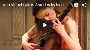 Asturias (Leyanda) d'Albeniz par Ana Vidovic, guitare