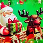 Une image de Noël conçue spécialement - 640x480 - pour personnaliser les jeux Happy Note!