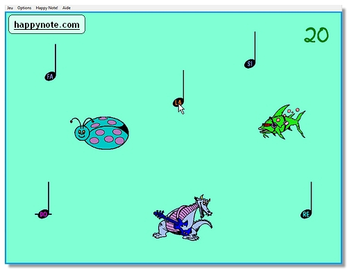 Un jeu musical pour apprendre aux enfants à utiliser une souris