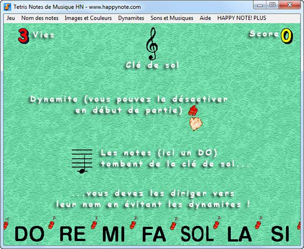 Découvrez les notes de musique en clé de sol avec un vrai jeu vidéo!