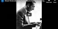 Mozart – La Marche Turque – Horowitz, Piano