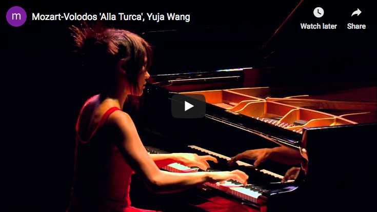 Mozart-Volodos - La Marche Turque - Wang, Piano
